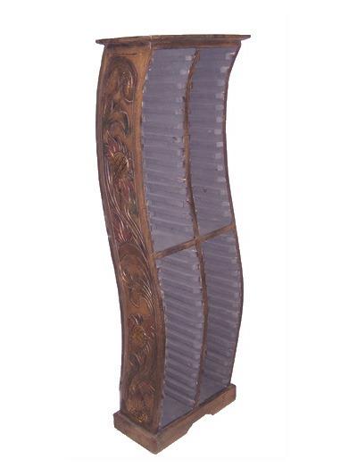 Porta cd etnici mobili da terra in legno lisci o - Porta tv da terra ...