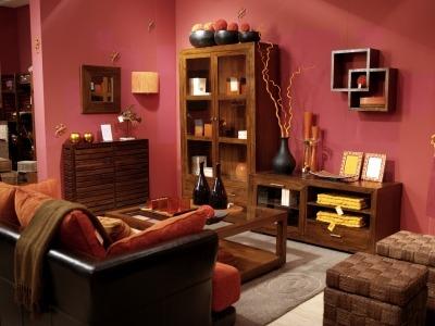 ristrutturare casa stile etnico: materiali naturali, colori caldi