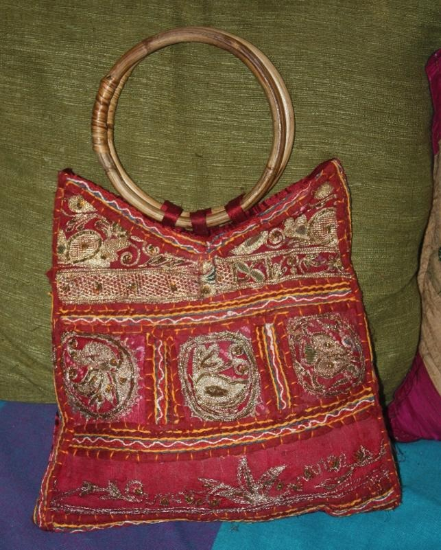 borse indiane con specchietti