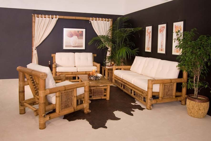 Arredamento Etnico Africano : Mobili etnici in bambù: pezzi canna fibre intrecciate